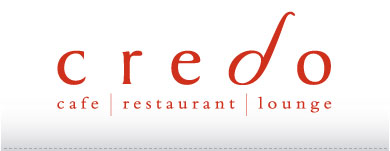 Large Credo Cafe Logo